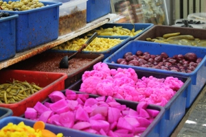 MiniVegetables and spices, Muslim Quarter, Jerusalem Old City