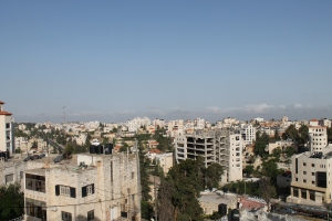 Morning view over Ramallah