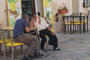Street scene, Jewish Quarter, Jerusalem Old City