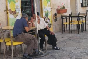 Street scene, Jewish Quarter, Jerusalem Old City