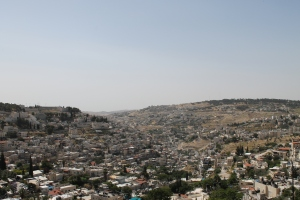 South-east view out from Jerusalem Old City