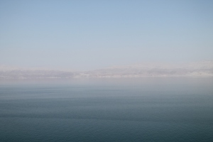 The Jordanian Dead Sea coast
