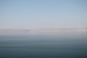 The Jordanian Dead Sea coast