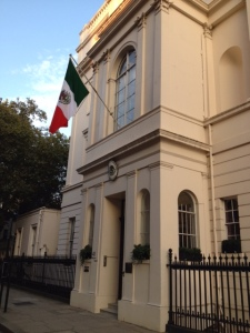 The Mexican Ambassador to the UK's residence